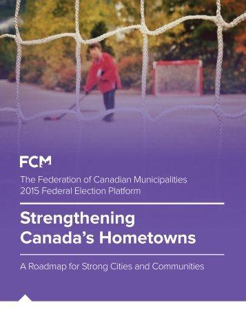 Strengthening Canada's Hometowns