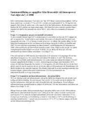 Ämnesprovet för åk 9, 2008