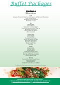Buffet Packages - Page 3