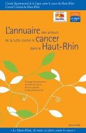 cancer Haut-Rhin