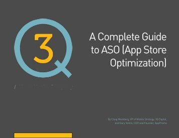 A Complete Guide to ASO (App Store Optimization)