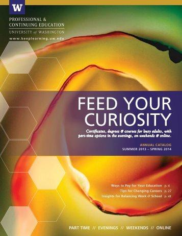 FEED YOUR CURIOSITY