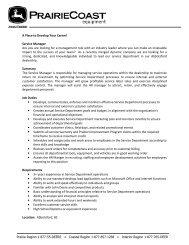 Service Manager Are you are looking for a management role with an ...