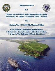 I Finene'na Na Finihu' I Guinåhan Tåno' - Guam Buildup EIS ...
