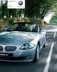 Preise des BMW Z4 Roadster