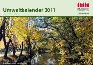Umweltkalender 2011 Umweltkalender 2011 - Stadt Borken