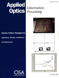 All-optical pattern recognition for digital real-time ... - PoliCom
