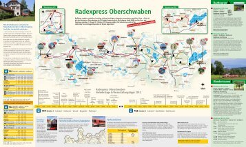 Radexpress Oberschwaben - Faltblatt 2012 - Bodo