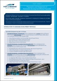 Preparation and Assessment of Assessable Development/Works Proposals