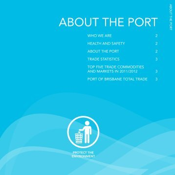 ABOUT THE PORT