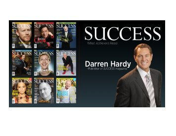 Productivity Secrets of Superachievers by Darren Hardy