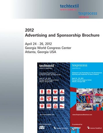 2012 Advertising and Sponsorship Brochure