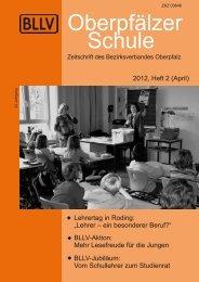 Ausgabe 2/ 2012 -  Bayerischer Lehrer