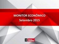 MONITOR ECONÔMICO Setembro 2015