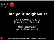 Find your neighbours