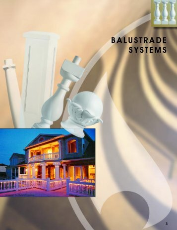Balustrades magazines for Fypon balustrade systems