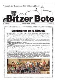 Deutsches Rotes Kreuz - in Bitz