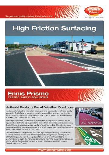 High Friction Surfacing