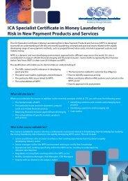 Download brochure - International Compliance Association