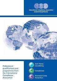 ICA UK Brochure - International Compliance Association