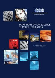 Make more of excellence through education