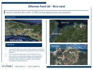 Ottoman Fund Ltd - Riva Land