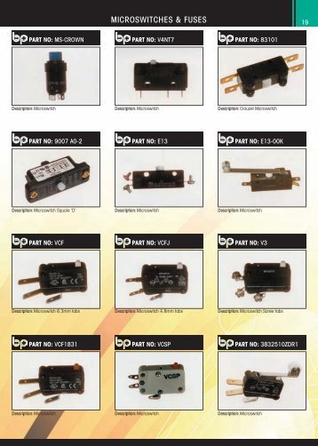 MICROSWITCHES & FUSES