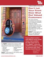 Don't Let Your Front Door Shut Out Valued Customers