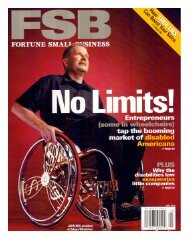 Entrepreneurs (some in wheelchairs) - Inclusion Solutions