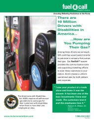 FuelCall™ Info Sheet - Inclusion Solutions