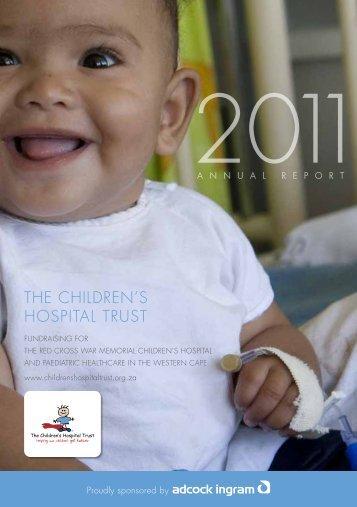 2011 Annual Report Children's Hospital Trust