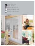 2012 FULL LINE CATALOG IT'S THE DOORGLASS THAT MAKES THE DIFFERENCE - Page 5