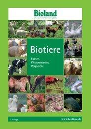 Biotiere - Bioland