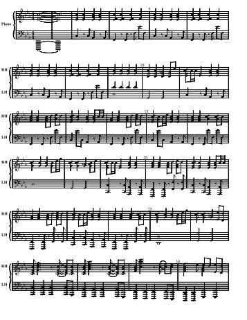 feeling good piano pdf free