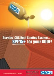 SPF 15+ for your ROOF!