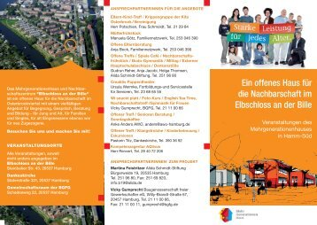 Flyer 2009 (PDF) - bei der BGFG