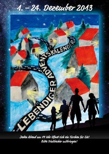1 – 24 Dezember 2013