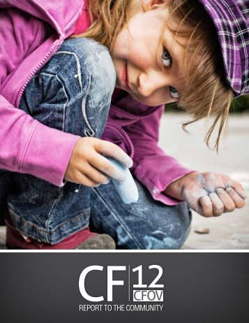 Report to the Community 2012 (PDF) - Community Foundation for ...