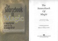 Michael Hall - The sourcebook of Magic (NLP).pdf