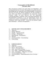 6.8 Erholung – Freizeit – Sport - Bundesamt für Naturschutz