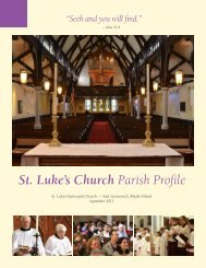 St Luke's Church Parish Profile