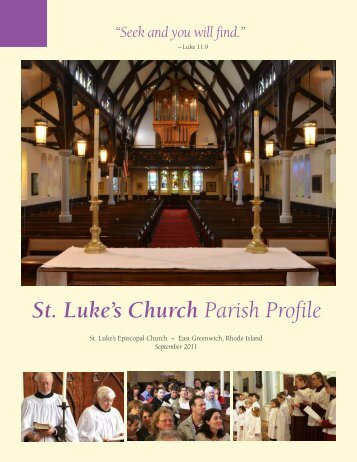 St Luke's Church Parish Profile