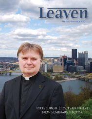 Pittsburgh Diocesan Priest New Seminary Rector