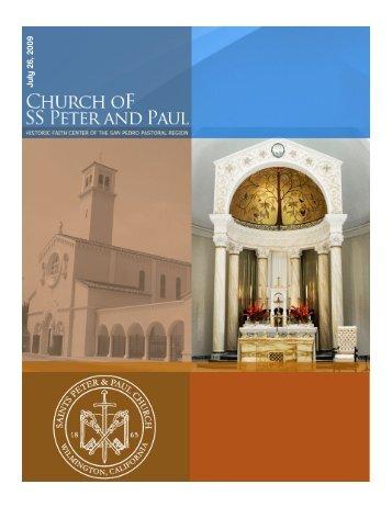 J u ly 26, 200 9 - Saints Peter and Paul Church