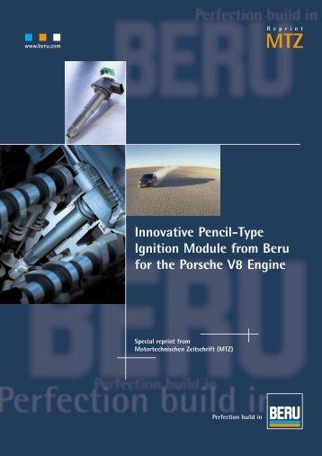 Innovative Pencil-Type Ignition Module from Beru for the ... - Beru.com