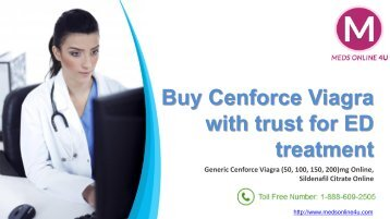 Buy Cenforce Viagra with trust for ED treatment.pdf