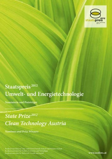 sector Austria environmental markets renewable