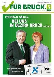 Ausgabe September 2010 - Brucker Volkspartei