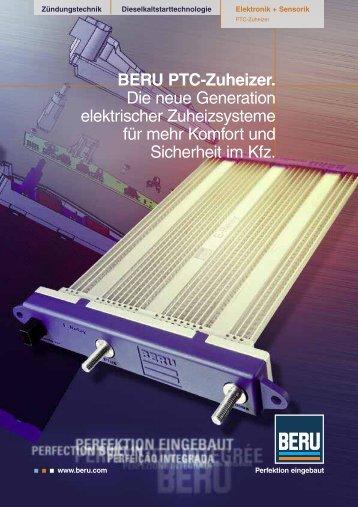 BERU PTC-Zuheizer. Die neue Generation elektrischer - Beru.com