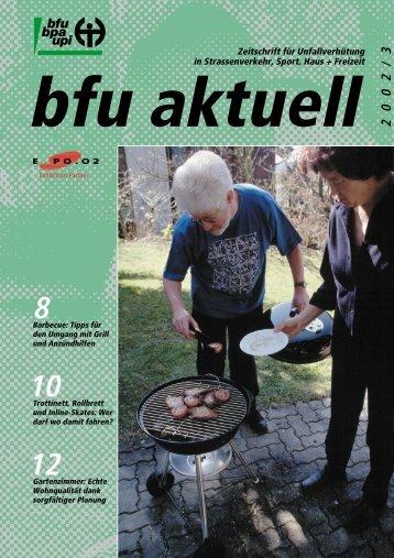 Zeitschrift für Unfallverhütung in Strassenverkehr, Sport, Haus + - BfU